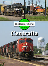 Train DVD: Then & Now - CN, BNSF, NS and Amtrak at Centralia, Illinois