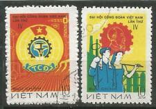 Vietnam Scott#934-935 (0) Used 1978 Congreso of Unions