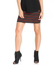 New RACHEL by RACHEL ROY Stretch Striped Crepe Mini Skirt Size Extra Small XS