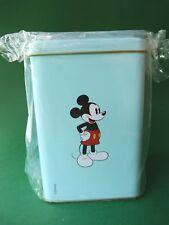 Boîte métalique bleue Mickey - Monnaie de Paris - Epuisé - Walt Disney - Neuve