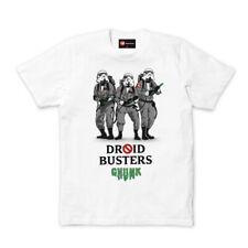 Chunk Star Wars Droidbusters White Men's T-Shirt