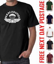 PARACADUTISTI ITALIAN PARATROOPER airborne forces t-shirt maroon beret pegasus