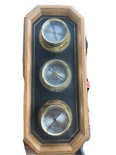 Springfield Weather Wall Mount Decoration Humidity Meter, Barometer, Thermometer
