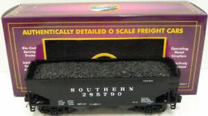 MTH 20-97610 O Southern Premier 2-Bay Offset Hopper Car w/Load LN/Box