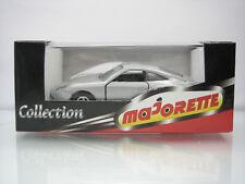 Diecast Majorette Porsche 996 No. 209.1 Silver Grey Mint in Box