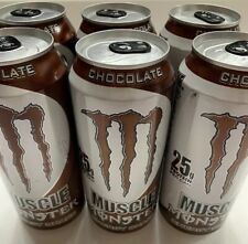 Monster Muscle Energy Shake Chocolate 25g Protein Per Can, 15 Fluid Ounce - 6 Pk