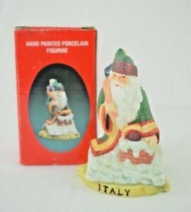 Santa's of the Nations - Italy - San Nicola #8904 - Hand Painted Figurine