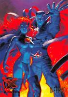 INFERNO / X-Men Fleer Ultra 1995 BASE Trading Card #122