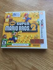 New Super Mario Bros. 2 (Nintendo 3DS, 2012) TESTED Complete Works NG3