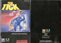 The Tick - SNES Super Nintendo - Instruction Manual Only