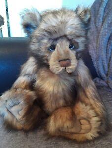 Gorgeous Charlie Bear GRUMPY (Retired)