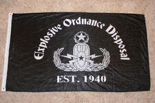 Explosive Ordnance Disposal Eod Flag 2.5' x 5'