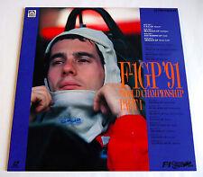 F-1 GRAND PRIX GP 1991 Part.1 USA BRAZIL/SAN MARINO MONACO LD Laserdisc JAPAN F1