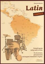 Dietrich Wohrlin Latin COMPACT Learn to Play Drums Samba Lesson Music Book TUTOR