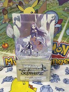 Weiss Schwarz English Sword Art Online Extra Booster Box