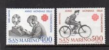 SAN MARINO MNH 1983 SG1212-1213 WORLD COMMUNICATIONS YEAR
