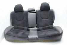 2008-2014 SUBARU WRX STI REAR SEATS BLACK SUEDE ALCANTARA OEM