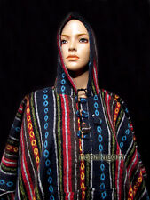 P6 Cotton Gheri Hoodie Pullover Woolen Winter Poncho boho Jumper Jacket Nepal
