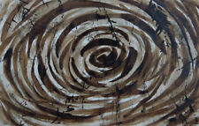 "Original Art - Ink painting ""Forest Pond"" 7""x11"", 2018"