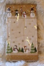 HEARTLAND SNOWMAN Guest Towels Set of 20 Special Occasion Paper Buffet Napk