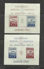 Croatie Hrvatska Krila  YT BF 1/2  ** MNH C= 160€