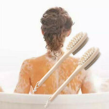Double Sided Body Brush Massage Loofah Back Scrubber Shower Bath All Skin Types