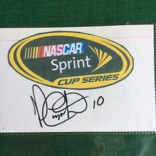 Patrick CARPENTER, Autograph, #10- NASCAR Sprint Cup Series Driver