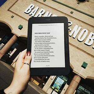 """Barnes & Noble NOOK GlowLight Plus eReader - 7.8"""" - 8GB BNRV700 Waterproof"""