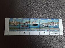 United Nations Transportation 1997 Strip Of 5 Stamps Mint