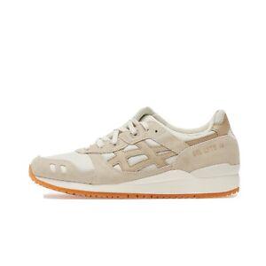 Asics GEL-Lyte III OG Sneaker Ivory/Wood Crepe - Size 10.5 - Brand New