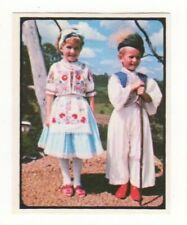 Grain products NZ Card. National Costume of Hungary