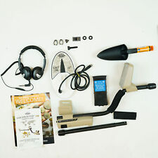 """New ListingWhites Goldmaster 24k Metal Detector with 6 x 10"""" Dd Waterproof Search Coil"""