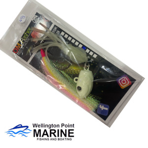 OM Flasher Rig Glow Freak Weighted 2 Hook Fishing Rig