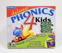Cosmi Deluxe Phonics 4 Kids Software Windows PC