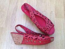 Geometric Slingback Casual Heels for Women