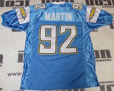 Vaughn Martin Custom #92 San Diego Chargers Football Jersey Dolphins Alouettes