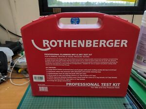 * Rothenberger Professional Plumbers Wet and Dry Pressure Test Kit 67068