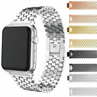 Metal Stainless Steel Unique Strap Band For Apple Watch Series 3 2 1 42mm/38mm