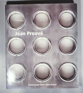 Scarce Jean Prouve Galerie Jousse Seguin  Enrico Navarra catalog of furniture