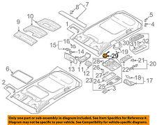 VW VOLKSWAGEN OEM 12-14 GTI Sunroof Moon Roof-Switch 1K0959613C2EN