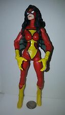 Marvel Legends Spider Woman Jessica Drew Action Figure Loose Toy Biz 2006