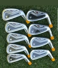 NEW TaylorMade R9 TP IRONS 2-PW TOUR ISSUE B STAMP HEADS