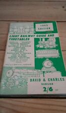 Collectable Railway Public Timetables