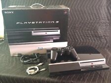 Sony PlayStation 3 PS3 40GB with controller