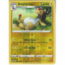 Pokemon 057/189 Ampharos | Rare Reverse Holo Card Sword & Shield Darkness Ablaze