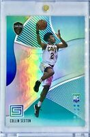 2018-19 Panini Collin Sexton Rookie Card RC Aqua Green Prizm Cleveland Cavaliers