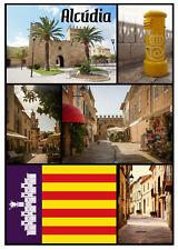 Alcudia,Majorca,SPAGNA - souvenir gadget CALAMITA FRIGO - NUOVO / VISTE / regali