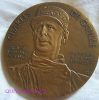 MED10280 - MEDAILLE 1990 Charles De Gaulle Evadé de France par l'Espagne N° 0386