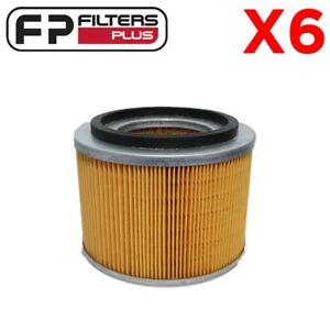 6 x WA1033 Wesfil Air Filter - Nissan Patrol 3.0L & 4.2L - 16546VB300, A1412