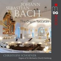 J.S. Bach / Christoph Schoener - Organ Toccatas [New SACD]